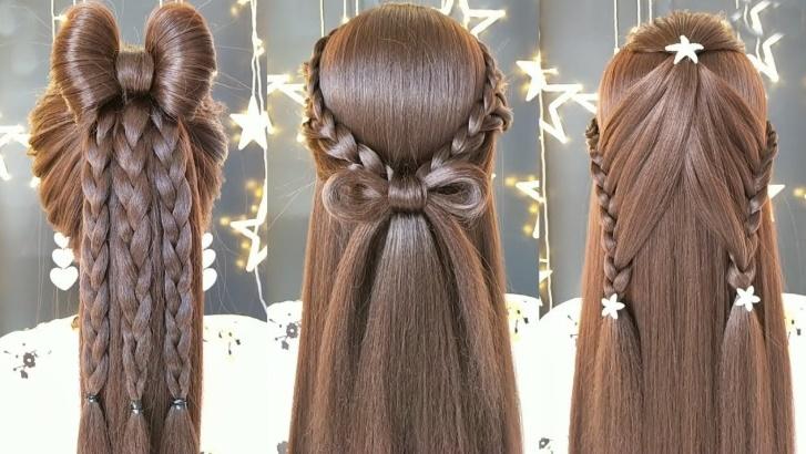 Kolay örgü saç modelleri