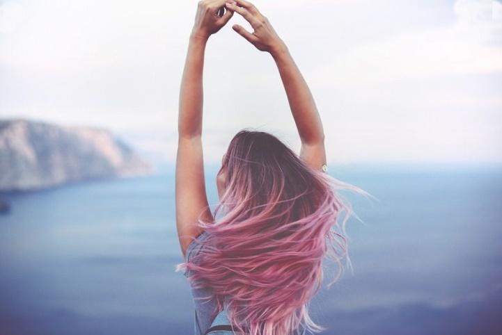 Renkli Saç Detayları