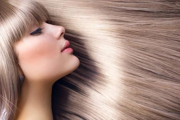 Sirke ile saç düzleştirme