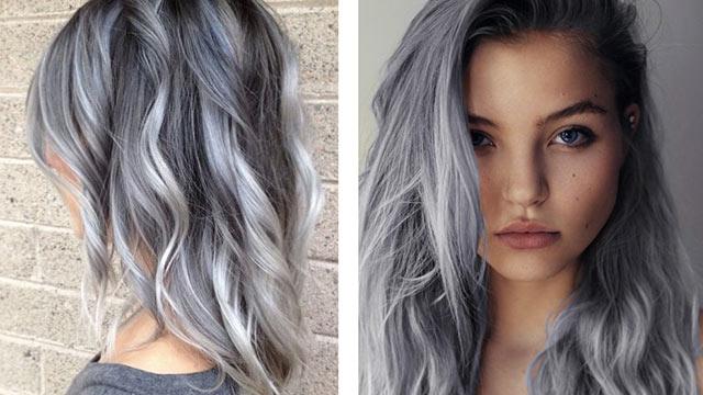 Kar grisi saç modası